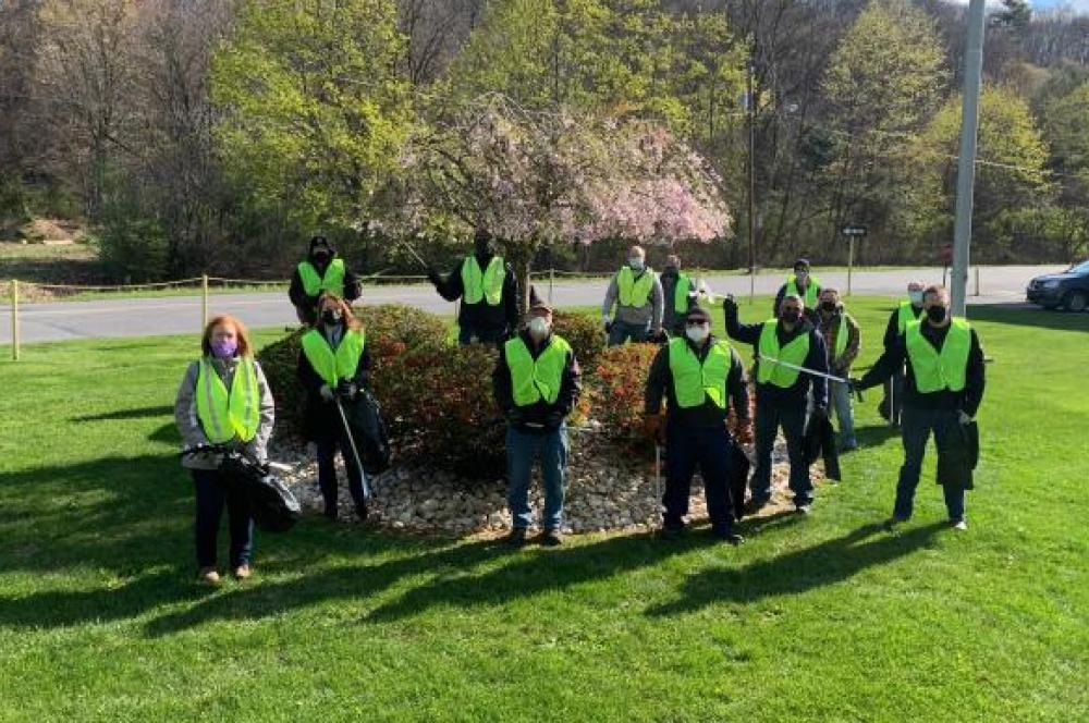Earth Day 2021 at Pottsville, PA plant