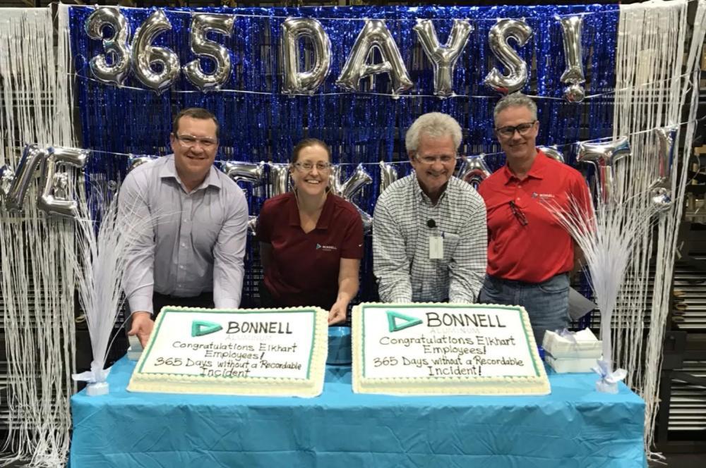 365 Days Injury-Free at Elkhart Plant!